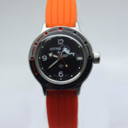 Russian automatic diver watch VOSTOK AMPHIBIAN 2416 / 420634 silicone