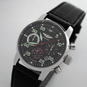 Russian Chronograph Watch Pilot Aviator Berkut 31681