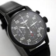 Russian Chronograph Watch Pilot Aviator Berkut 31681 Black
