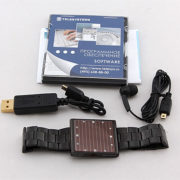 Digital Voice Recorder Solar Watch Edic-mini LED S51-300h