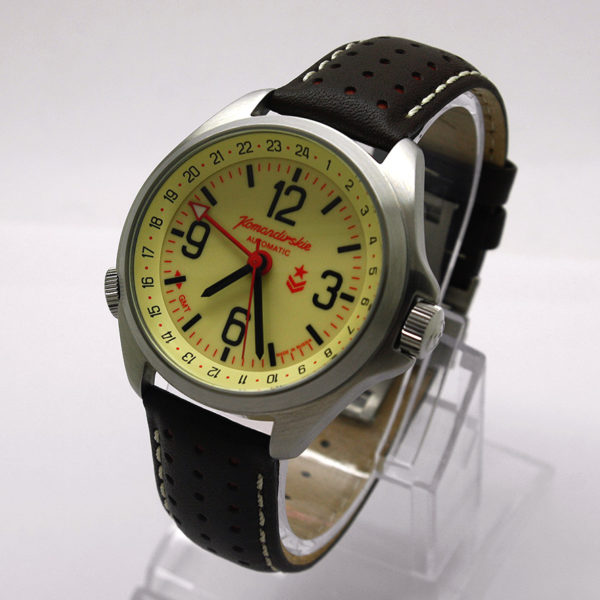 Vostok Komandirskie K-34 Russian Automatic Watch 2426 / 350007