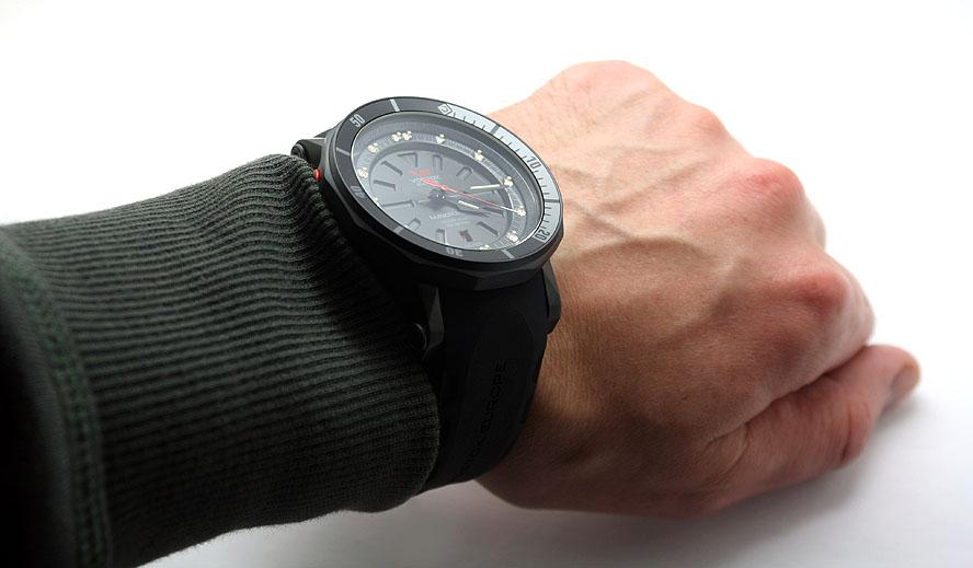 Vostok-Europe Lunokhod 2 Automatic Watch Tritium Tube NH35A / 6204208