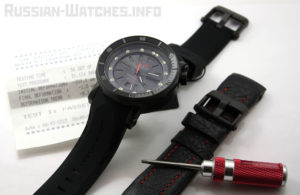 ostok-Europe Lunokhod 2 Automatic Watch Tritium Tube NH35A / 6204208
