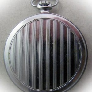Soviet pocket watch Molnija 3602 USSR 1960s