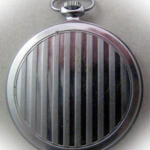 Soviet pocket watch Molnija 3602 USSR 1960s