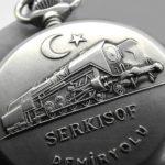 Soviet pocket watch Molnija Serkisof Demiryolu Railroad USSR 1970s