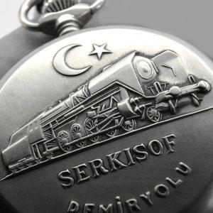 Molnija Serkisof Demiryolu Railroad USSR 1970s