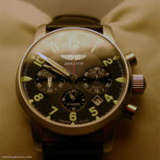 Russian military chronograph watch Poljot Aviator 31681 / 6975607