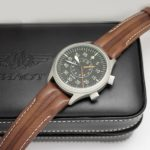 Russian mechanical alarm watch Poljot 2612.1 Aviator