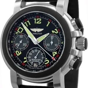 Russian chronograph watch Poljot Aviator HI-TECH 31681 / 3035268