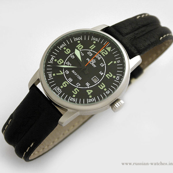 Russian mechanical watch POLJOT AVIATOR Z2014A-3