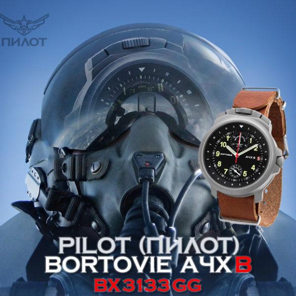 Pilot_Aviator_BORTOVIE_3133_Grey_Green91