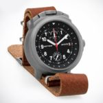 Russian Chronograph Watch Pilot Aviator BORTOVIE 3133 Grey/White