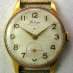Soviet mechanical watch Pobeda 2MWF USSR 1960s