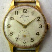 Soviet mechanical watch Pobeda 2MWF USSR 1960s