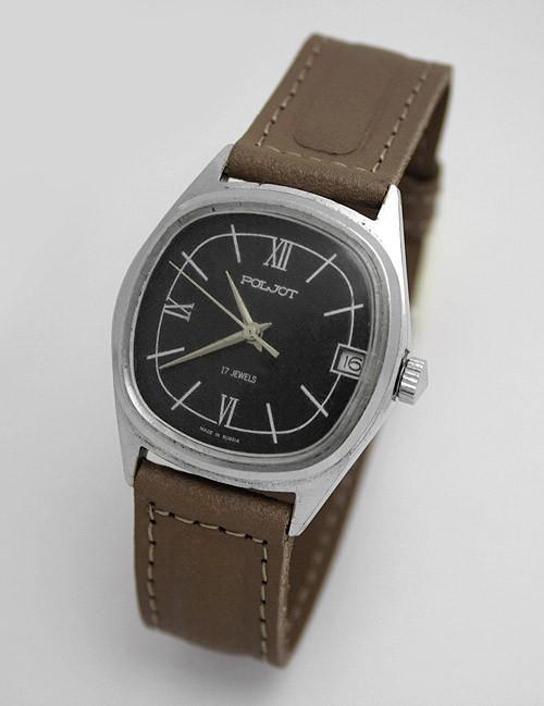 Russian Poljot 2614.2H mechanical watch 1992