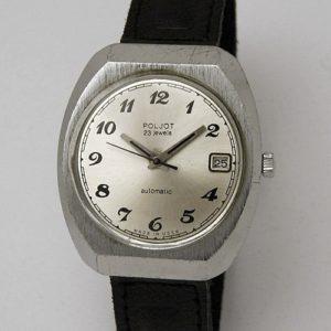 Soviet automatic watch Poljot 2616.2H USSR 1983