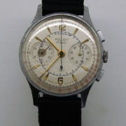 Soviet Vintage Poljot 3017 Military Chronograph Watch