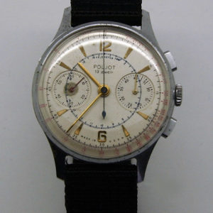 Poljot 3017, Military Chronograph Watch USSR 1960s
