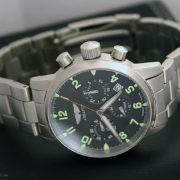Russian chronograph watch Poljot Aviator 31681 / 6975607B