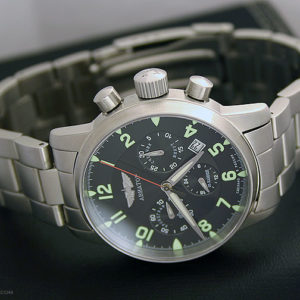 Russian chronograph watch Poljot Aviator 31681 / 6975607B