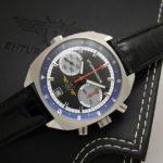 Russian chronograph watch Poljot Sturmanskie 3133
