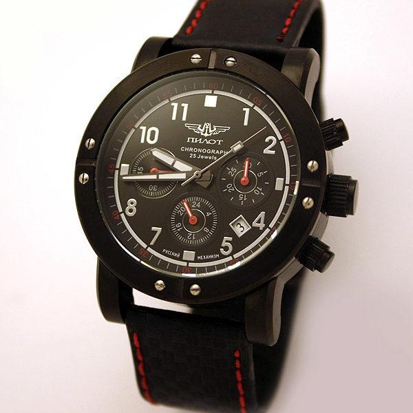 Russian Chronograph Watch Pilot 31681 SPORT