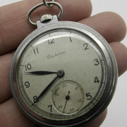 Soviet mechanical pocket watch Salut USSR 1948