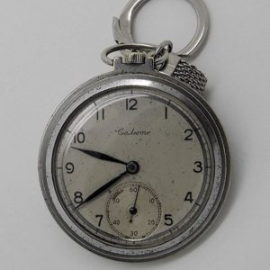 Soviet mechanical pocket watch Salut USSR 1948