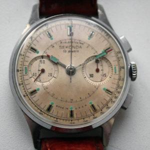 Sekonda Strela 3017, Chronograph Watch USSR 1960s