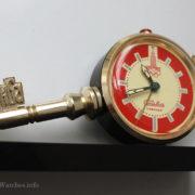 Soviet Vintage Slava Alarm Clock Moscow Olympic Games 1980