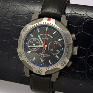 Russian chronograph watch Poljot 3133 Sturmanskie Titanium