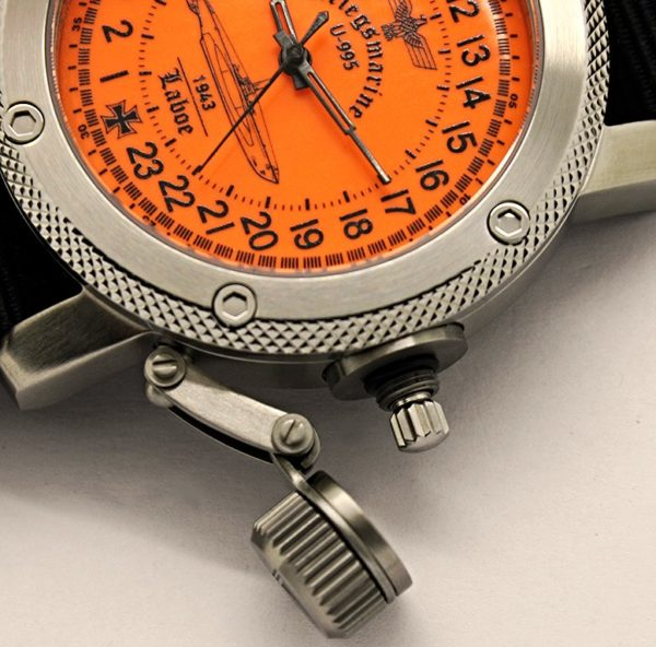 24-Hours Mechanical Watch - Submarine U-995