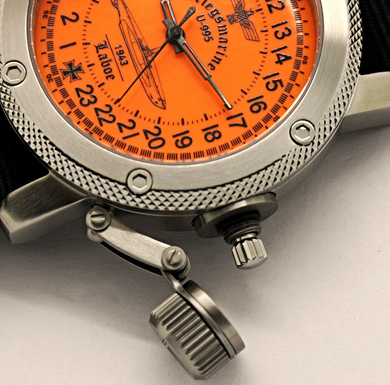 24-Hours Mechanical Watch - Submarine U-995
