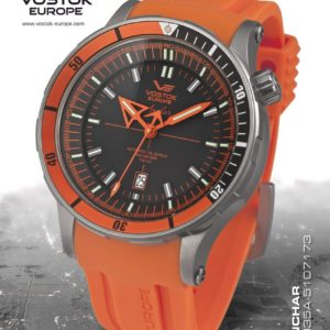 Vostok-Europe Anchar Diver Watch Titanium NH35A / 5107173