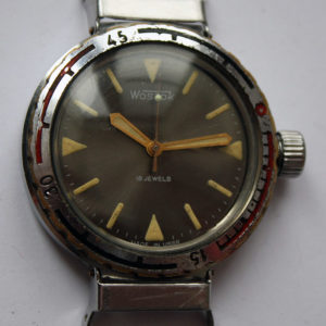 Soviet Vintage Vostok 2209 Amphibian Diver Mechanical Military Watch USSR