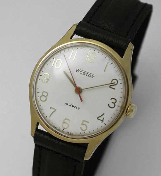 Russian Vostok 2209 mechanical watch USSR 1970