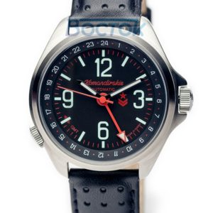 Vostok Komandirskie K-34 Russian Automatic Watch 2426 / 350006