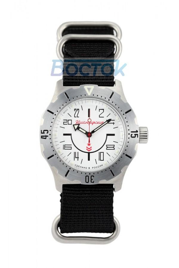 Vostok Komandirskie K-35 Russian Automatic 24-Hours Watch 2431.01 / 350624