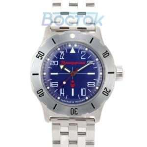 Vostok Komandirskie K-35 Russian Automatic 24-Hours Watch 2431.01 / 350642