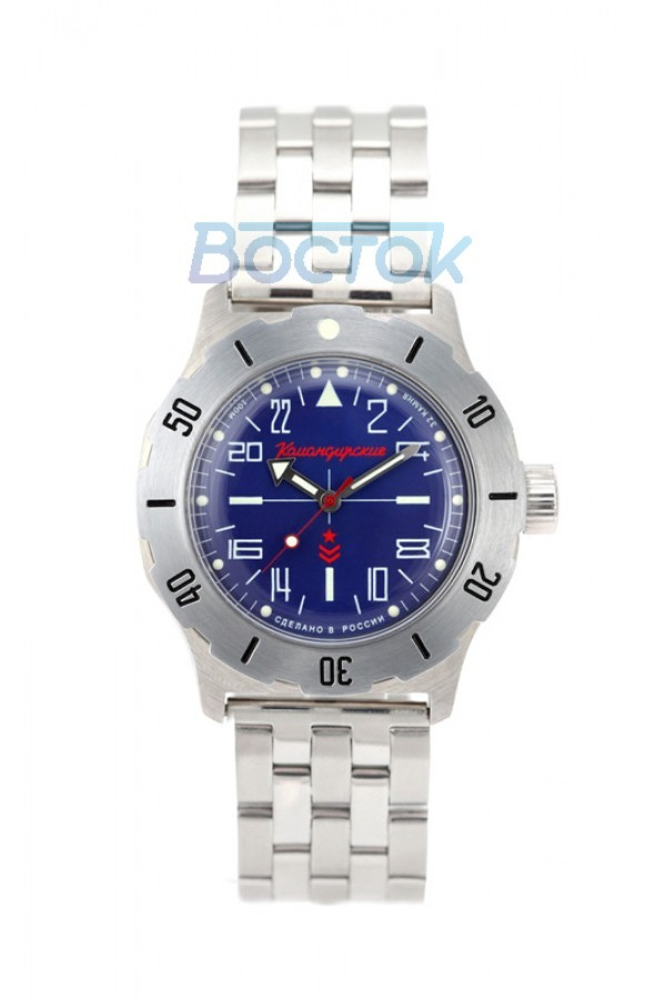 Vostok Komandirskie K-35 Russian Automatic 24-Hours Watch 2431.01 / 350642