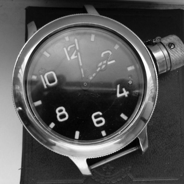 Soviet ZLATOUST 191-ChS Diver Watch USSR Serial Number #2292