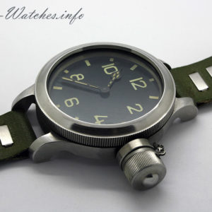 Soviet Zlatoust Diver 191-ChS Military Watch USSR 1970s