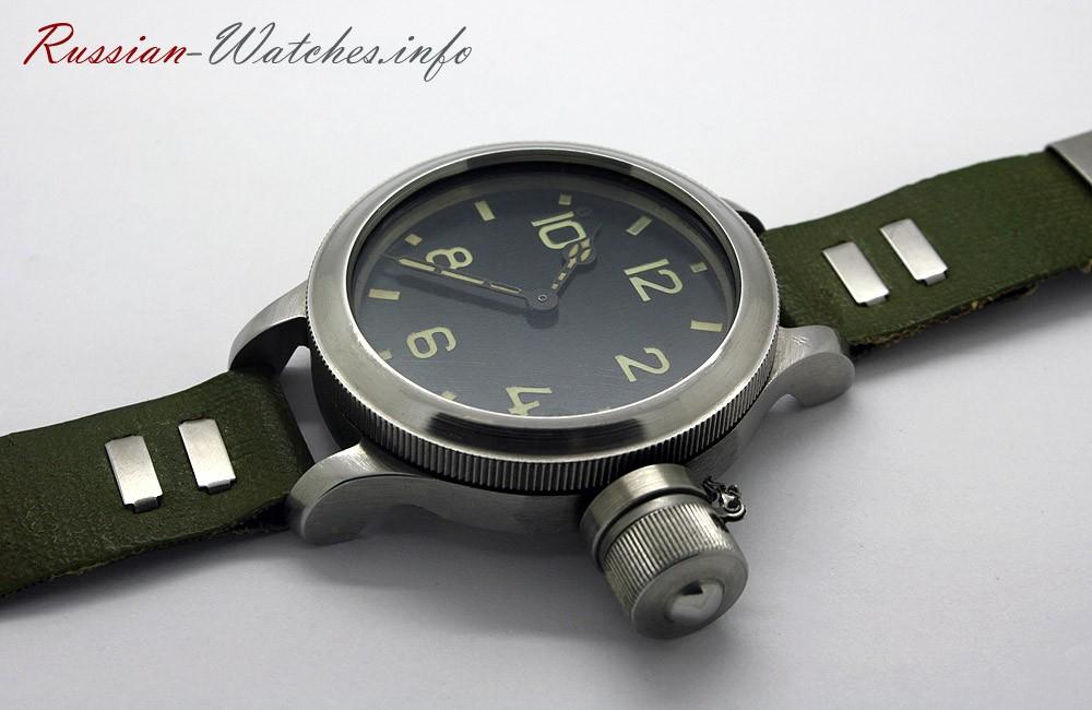 Soviet Zlatoust Diver 191-ChS Military Watch USSR 1970s