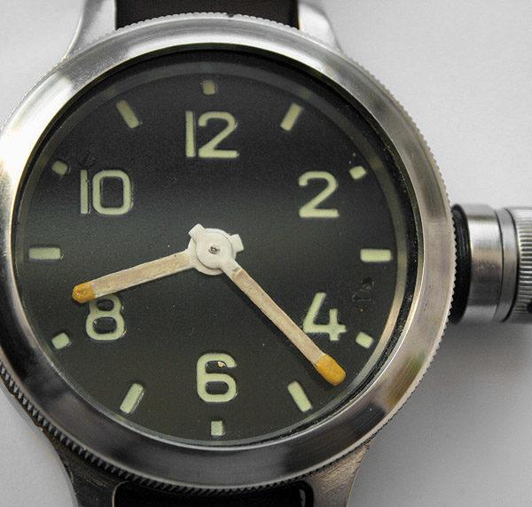 Soviet Zlatoust Diver 191-ChS Military Watch USSR #9306