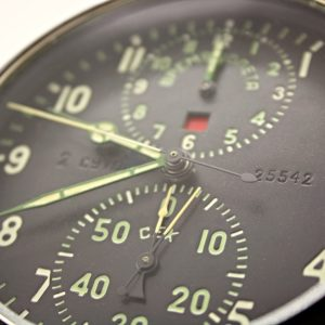 Russian military aircraft clock ACHS-1