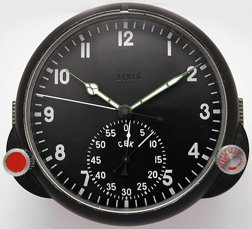 Russian Aircraft Cockpit 5-Days Clock 60 CHP