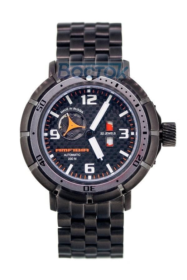 Vostok Amfibia Turbina Russian Automatic Watch 2435.02 / 236603 A