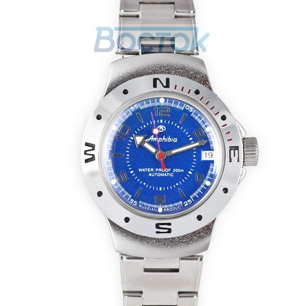 Russian automatic watch VOSTOK AMPHIBIAN 2416 / 060007