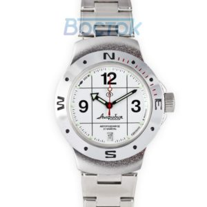 Russian automatic watch VOSTOK AMPHIBIAN 2416 / 060487